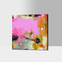 art frames cheap - Unframed Cheap Art Simple Abstract Color Pictures Handmade Oil Painting on Canvas Home Goods Decoration No Frame