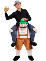 bavarian costumes - Carry Me Bavarian Beer Guy Ride On Oktoberfest Mascot New Fancy Dress Costume