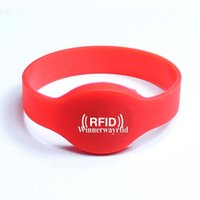 Wholesale Silicone RFID Wristband RFID Bracelet RFID Tag NFC Tag for Access Control Chip Ntag203 WY101