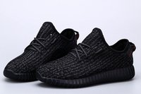 Wholesale Yeezy boost Pirate Black Running Shoes Footwear Sneakers Men And Women Kanye West Yeezy milan Sport Shoes