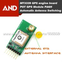 automatic antenna switch - highly sensitive gps Automatic Antenna Switching PA6H gps module PA6H breakout board LadyBird Gift Dupont Line board running