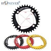 Wholesale MTB Bike Single Chain Ring T T T Bicycle Chainring BCD mm Ultralight Crankset Round Chainwheel