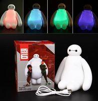 big light switch - 1PC Color Changing Big Hero Baymax USB LED Table Light Creative Desk Lamp cm Cartoon Nightlight Kids Gift Home Decor