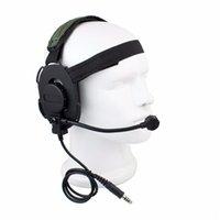 airsoft radio headset - Z Tactical Bowman Elite II Headset Airsoft Mic Radio Boom Green Z Tactical HD Best C2130G Fshow