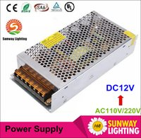 Wholesale CE ROHS UL CSA SAA V led transformer V W W W W W W power supply for led strip