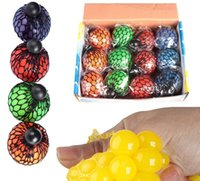 big geek - New Mesh Squish Ball Anti Stress Face Reliever Grape Ball Autism Mood Squeeze Relief Healthy Toy Funny Geek Gadget Vent Toy