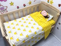 Wholesale Promotion New Arrived Baby Bedding Set for Boys Reactive Printing Duvet Cover Sheet Pillowcase