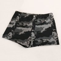 Wholesale High Quality Camo Swimwear Shorts Quick drying Beach Board Shorts Surf Sexy Mens Swimming Trunks Asian Size L XL UL0059 salebags