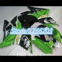 advanced kawasaki - Advanced Green black Fairing Kit for Kawasaki Ninja ZX10R ZX R ZX R Fairings