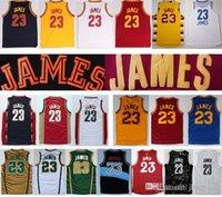 lebron james jersey - Lebron James Retro New Rev Mesh Yellow Red Blue White Black Jersey Size extra small S XS xl