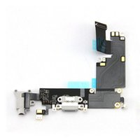 Wholesale Original OEM Dock Charger Charging For iPhone Plus Plus White Gray Connector Headphone Audio Jack Port Flex Cable Ribbon Replacement
