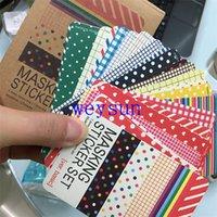Wholesale Scrapbooking Washi Kit Basic Masking Tape Craft Stickers Pack Decorative Labelling Art Adhesives