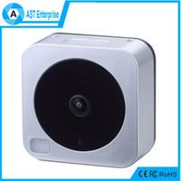 Wholesale new desugn smart door bell wireless ip door phone digital door viewer smart wifi outdoor alarm bell