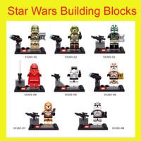 Wholesale Star Wars Building Blocks Emperor s Royal Guard minifigures kids Education Toys Children Gifts bricks