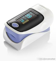 Wholesale CE approved Color OLED Fingertip Pulse Oximeter Spo2 Monitor Finger pulse oximeter color optiona Free DHL Shipping Hot Newest inway