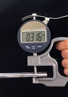 Wholesale Micrometer Electronic Thickness Gauge High Accuracy mm10mm mm Portable Digital Thickness Meter With Data Output