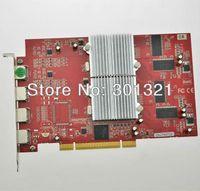 Wholesale 100 New ATI Radeon Dual GPU M PCI VGA Multi screen display card with HDMI to VGA output ports to support