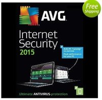 Wholesale AVG Internet Security entire function software English years card pc