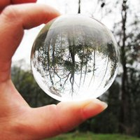 Wholesale Asian Rare Natural Quartz Pure Clear Magic Glass Crystal Healing Ball Sphere mm Stand Home Decoration