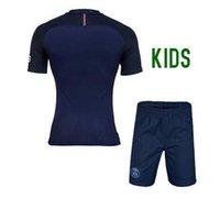 barcelona football kits - Kids kits Barcelona jerseys home Away Thai quality season Messi Suarez kids boys child soccer jerseys youth best football shirt