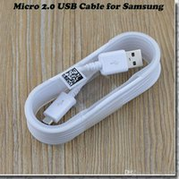 Wholesale Original Micro USB Fast Charger Data Charging Cable for Samsung Galaxy Note Note S6 edge Plus S4 N7100 i9500 i9300 S5830