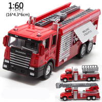 Cheap Alloy Fire Truck Best Pull Back Toys