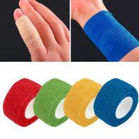 Bandage aid tape - 2PCS Self Adhering Bandage Wraps Elastic Adhesive First Aid Tape Stretch cm
