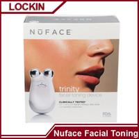 Wholesale Nuface trinity facial toning device nuface microdermabrasion machine VS Nuface Trinity PRO Nuface Trinity mini PMD Pro Tripollar