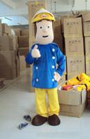 Wholesale Hot new firemane same mascot costumes Halloween Costumes Christmas Party Adult Size Fancy Dress