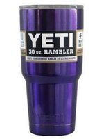 Wholesale newest Yeti oz Rambler Tumbler Bilayer Stainless Steel Insulation Cups Cars Beer Mug Large Capacity Mug Tumblerful