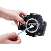 Wholesale New Arrival VSGO APS C DSLR Sensor Cleaning Swab With Liquid Cleaner Camera Cleaning DDR swab stick