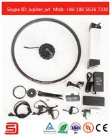 bicycle electric hub - New Arrivals Electric Bike Bicycle Conversion Motor Kit Electric Brushless Non gear Hub Motor