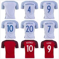 Wholesale Thai quality EURO England Jersey WALCOTT KANE Rooney STERLING football Shirts England soccer jerseys Player Version Kit