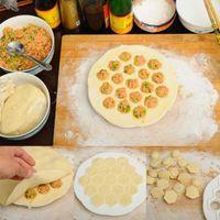 Wholesale New Dumpling Mold Maker Kitchen Dough Press Ravioli DIY Holes Dumplings Maker Mold