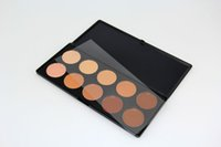 Wholesale 2016 In Stock Color Face Concealer Whitening Nutritious Water Resistant Palette Makeup for All Skin Types Fedex