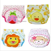 Wholesale Baby Cartoon Training Pants Waterproof Diaper Pants Toddler Panties Newborn Underwear Reusable Nappys Infant Diapers Briefs Boxers B107