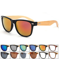 bamboo mirrors - Fashion Bamboo Sunglasses Men Wood sun glasses Oculos De Sol Masculino Wooden Sunglasses Women Brand Designer Gafas De Sol wood glasses