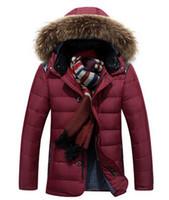 Wholesale 2016 new men s short jacket thicken white duck down jacket large size five colors Warm Outwear Winter Jacket