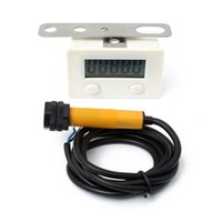 Wholesale 2015 New P11 A Digital Electronic Counter Punch Magnetic Induction Proximity Switch Reciprocating Rotary Counter