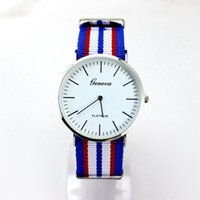 battery explosion - Fashion Casual Watch Hot New Cloth With Neutral Quartz Watch High Quality Simple Unpatterned Explosion Models Relogio Relojes Montre