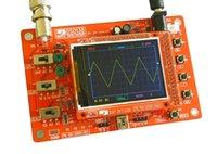 Wholesale 1PCS DSO138 quot TFT Digital Oscilloscope Kit DIY parts1Msps with probe