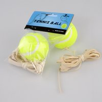 Wholesale 2016 hotsale Tennis Balls With Rope Training Tennis Rubber Rope Tennis Single Training For a beginner