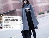 Wholesale Fashion Lady Slim Fit Wool Women Double Breasted Trench Warm CoatsWomen s clothing qiu dong outfit bigger sizes in the women s Dress Jacket