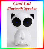 audio cat - Cool Cat Outlook bluetooth speaker with LED Light Outdoor wireless speaker Support Bluetooth card AUX radio for iphone android