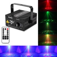 Auto strobe Blue EU Z24RG SUNY 9W Mini Laser LED Stage Light Lighting With Remote Controller Full Color Projector Effect Show For DJ Disco Party