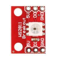 Wholesale Hot WS2812 Bit V RGB LED Lamp Panel Module Full Color For Arduino