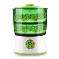 automatic block machine - Bean sprouts machine automatic household multi functional intelligent large capacity double sprout machine
