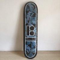 b deck - PLAN B Canadian Maple Skateboard Deck quot Skateboard Shape Maple Black amp Grey Pattern Skate Deck Patins Street