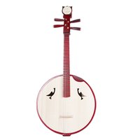 ac chord - Color wood playing large Ruan musical instrument professional teachers hand made sound quality protection gift dial chord ac