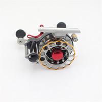 automatic cable reel - Aluminum Full metal fish line wheel BB Automatic cable raft wheel raft rod stem wheel micro lead reel g